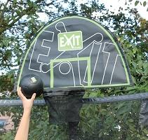 Basketkorg – ännu mer glädje på studsmattan!