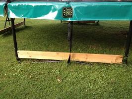 Studsmatta och robotgräsklippare? Här är lösningen!