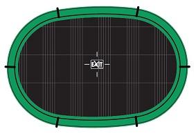 Rund, rektangulär eller oval studsmatta?